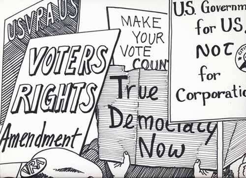 of democracy that bind...
